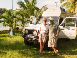 Bente&Hans mit ihrem schnellen Toyota