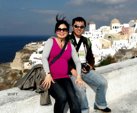 Babymoon in November 2012. Destination: Santorini Island, Greece.