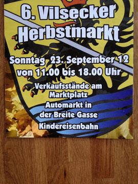 6. Vilsecker Herbstmarkt