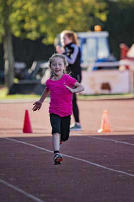 50m Sprint bei BoLA-Vereinsmeisterschaften 2020