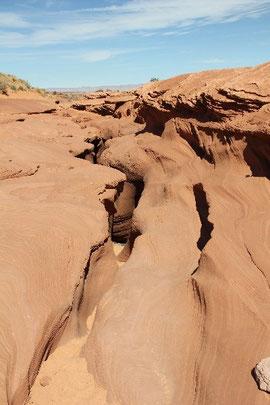 Eingang Antelope Canyon