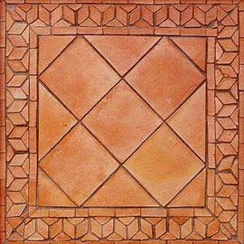 spanische terracotta southern tiles mediterrane wand und bodenfliesen. Black Bedroom Furniture Sets. Home Design Ideas
