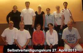 Zen-Ki-Budo Selbstverteidigungskurs 27. April 2013