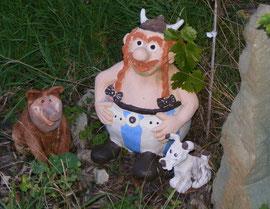 Obelix Keramik Wilschwein Idefix