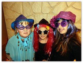 Avec Célia et Flo