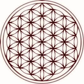 """Blume des Lebens, Symbol für """"Heilige Geometrie"""""""