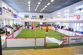 FuPa Soccerkäfig in der RT-Halle Regensburg