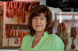 Fleischer-Fachverkäuferin Sabine Bretz