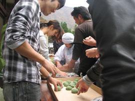 交流人口の拡大で地域活性化を図る利賀村