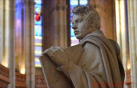 Schinkelstatue in der Friedrichwerderschen Kirche