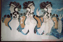 Knossos, Wandmalerei (16. Jh.v.Chr.)