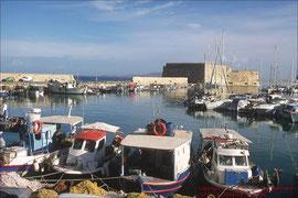 Heraklion, Hafen mit Venezianischem Kastell