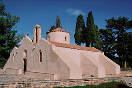 Marienkirche Panagía i Kerá bei Kritsa