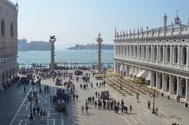 Der Markusplatz, Zentrum Venedigs