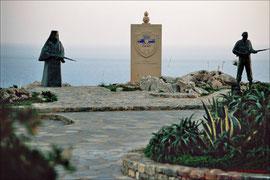 Moni Preveli, Denkmal für den Aufstand von 1821