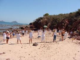 El domingo en la Isla de Venados