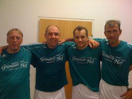 Die Goalgetter: Fürst, Kratochvil, Tanner (2), Heigl
