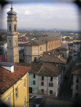 Chiesa Parrocchiale, Veduta dalla Torre Civica