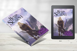 Heir of Scars - Fantasy Novel by Jacob Falling, illustrated by Vanessa Bettencourt