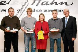 """Der Sportkreis Rems-Murr ehrte mit der Peter Hahn GmbH in Winterbach die """"Vorbilder 2010"""" (Foto: J.Fiedler)"""