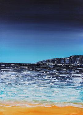 Meeresrauschen/Studie, 70 x 50 cm