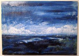 Inselblick, 50 x 60 cm