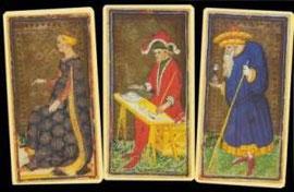 Visconti Sforza Tarocchi, XVème siècle, Italy