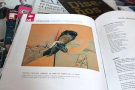 Obra publicada en Nu2, Revista del Mar y el Arte en Lanzarote, Nº20 (3/1/2011)
