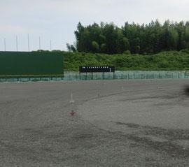 建設中の市野球場