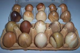 Holz-Ostereier