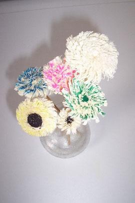 gedrechselte Blumen