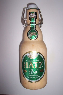 Bierflasche aus Ahorn