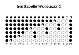 Grifftabelle WoobaSax C