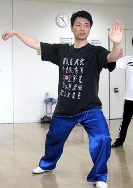 陳雷老師 単鞭