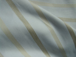 Streifenstoff in gelb und grau
