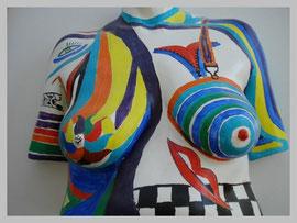 Sculpture Bodypainting