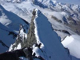 Rimpfischhorn Gipfel, Nebengipfel