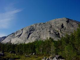Südwand des Hægefjell-Domes Nissedal