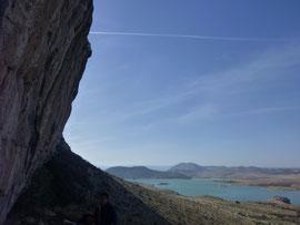 Klettern, Climbing, El Chorro, Spain, Andalusia, Desplomilandia