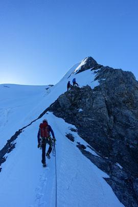 Jungfrau, Ritbrettgrat, Rotbrättgrat, Silberhorn, Silberhornhütte, Goldenhore