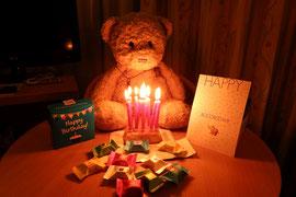 Kasimir feiert seinen - träräää - 10ten (!) Geburtstag in Budapest
