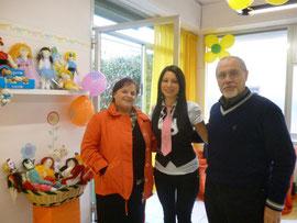 Volontari Unicef Pisa alla ludoteca Staff del Divertimento