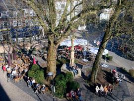 Marktplatz Eupen (Foto: Dennis Kupka)