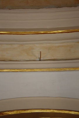 Imagen del gancho de la antigua fragua militar.