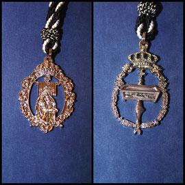 Medallas de los anderos.