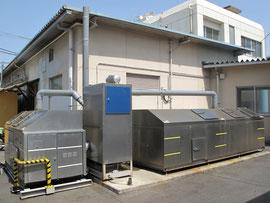 病院の生ゴミ処理機用脱臭機