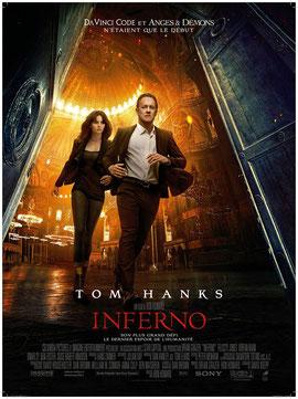 Inferno de Ron Howard - 2016 / Thriller - Fantastique