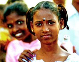 Junge Irular Frau aus Kollamedu