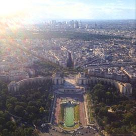 パリ市街が一望