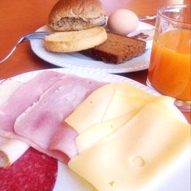 朝ご飯が豪華